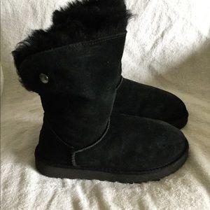 Ugg Australia Valentina Women black winter boots 6